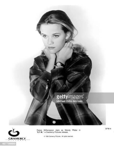 Actress Reese Witherspoon poses for the movie 'SFW' circa 1978