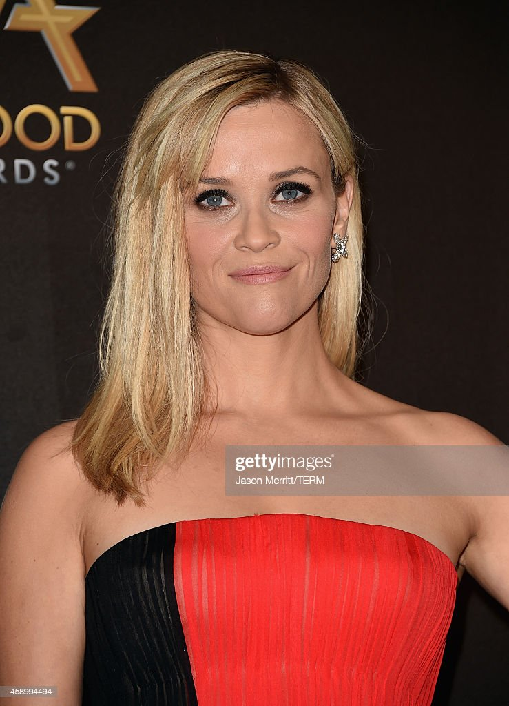 Actress Reese Witherspoon poses in the press room during the 18th Annual Hollywood Film Awards at The Palladium on November 14, 2014 in Hollywood, California.