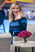 Actress Reese Witherspoon tapes an interview at 'Good Morning America' at the ABC Times Square Studios on December 3 2014 in New York City
