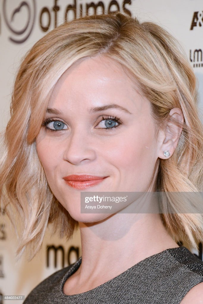 Actress Reese Witherspoon<attends the March of Dimes Celebration of Babies Luncheon> at Beverly Hills Hotel on December 6, 2013 in Beverly Hills, California.