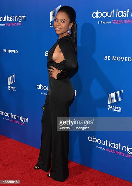 Actress Regina Hall arrives at The Pan African Film Arts Festival Premiere of Screen Gems' 'About Last Night' at ArcLight Cinemas Cinerama Dome on...
