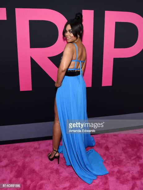 Actress Regina Hall arrives at the premiere of Universal Pictures' 'Girls Trip' at the Regal LA Live Stadium 14 on July 13 2017 in Los Angeles...