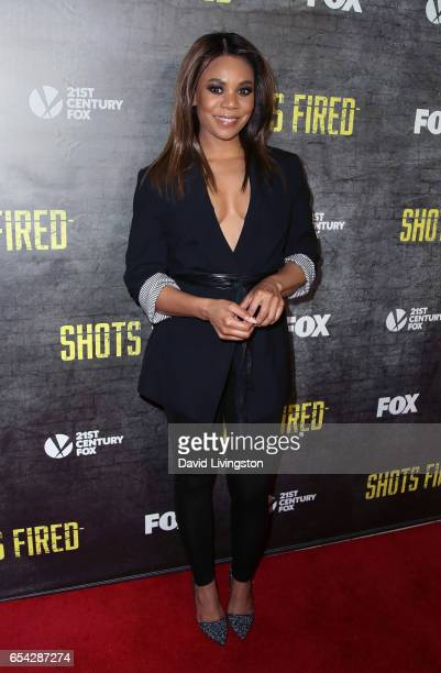 Actress Regina Hall attends a screening and discussion of FOX's 'Shots Fired' at Pacific Design Center on March 16 2017 in West Hollywood California