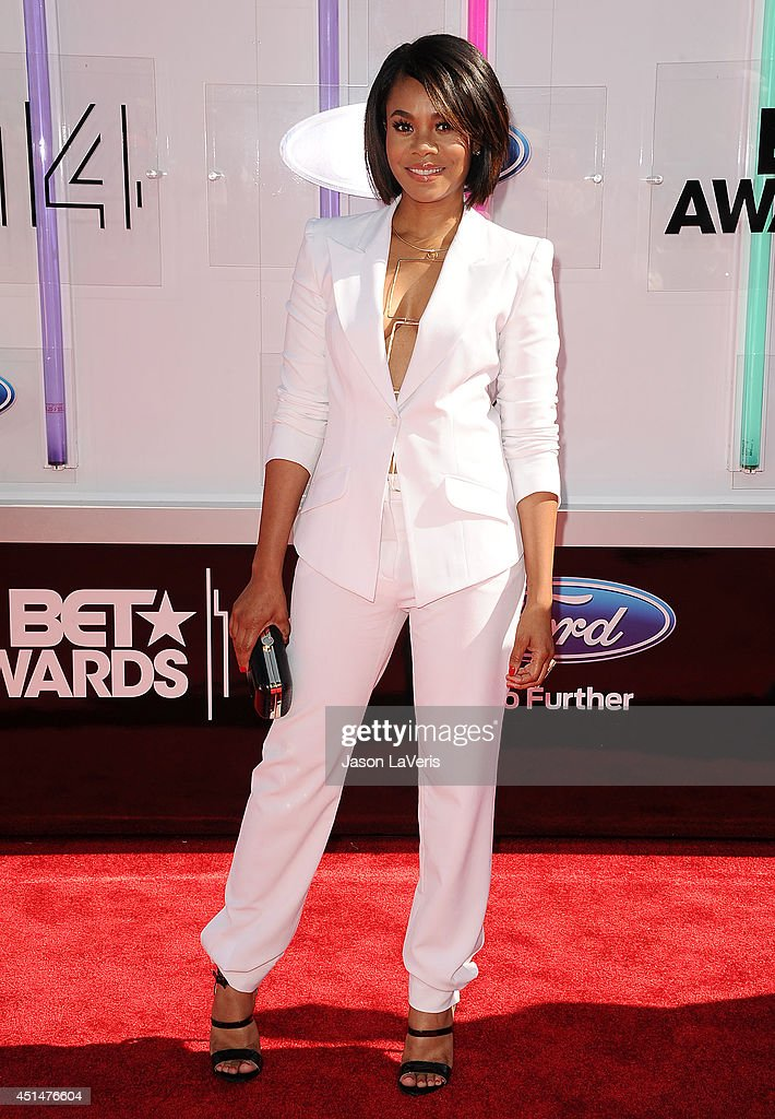 Actress Regina Hall attends the 2014 BET Awards at Nokia Plaza LA LIVE on June 29 2014 in Los Angeles California