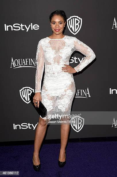 Actress Regina Hall attends the 2015 InStyle And Warner Bros 72nd Annual Golden Globe Awards PostParty at The Beverly Hilton Hotel on January 11 2015...