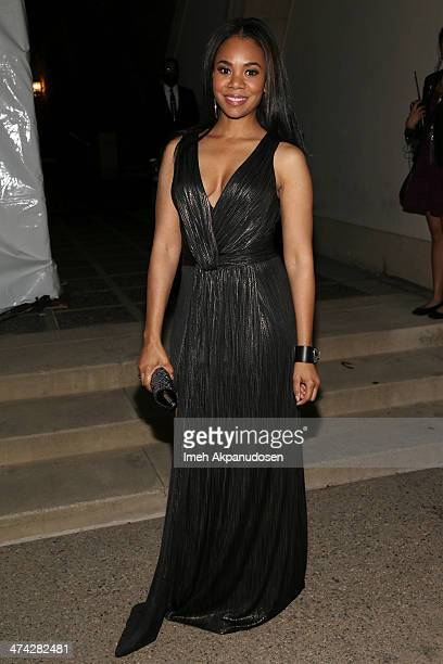 Actress Regina Hall attends the 45th NAACP Image Awards presented by TV One at Pasadena Civic Auditorium on February 22 2014 in Pasadena California