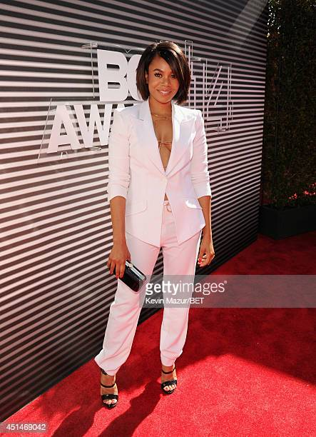Actress Regina Hall attends the BET AWARDS '14 at Nokia Theatre LA LIVE on June 29 2014 in Los Angeles California