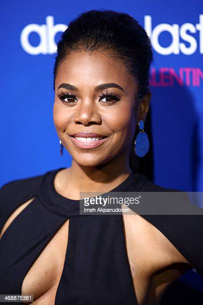 Actress Regina Hall attends the Pan African Film Arts Festival premiere of Screen Gems' 'About Last Night' at ArcLight Cinemas Cinerama Dome on...