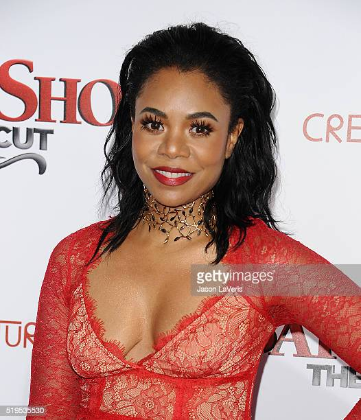Actress Regina Hall attends the premiere of 'Barbershop The Next Cut' at TCL Chinese Theatre on April 6 2016 in Hollywood California