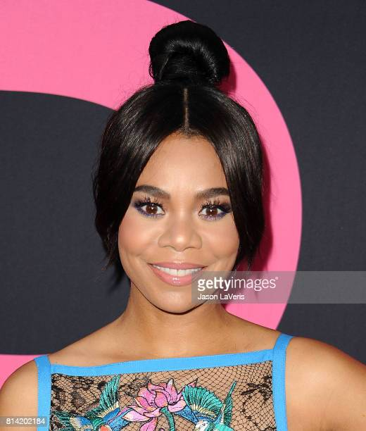 Actress Regina Hall attends the premiere of 'Girls Trip' at Regal LA Live Stadium 14 on July 13 2017 in Los Angeles California