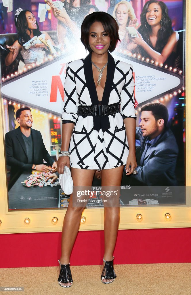 Actress <a gi-track='captionPersonalityLinkClicked' href=/galleries/search?phrase=Regina+Hall&family=editorial&specificpeople=4509171 ng-click='$event.stopPropagation()'>Regina Hall</a> attends the premiere of Screen Gems' 'Think Like a Man Too' at the TCL Chinese Theatre on June 9, 2014 in Hollywood, California.