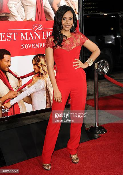 Actress Regina Hall attends the premiere of 'The Best Man Holiday' at TCL Chinese Theatre on November 5 2013 in Hollywood California