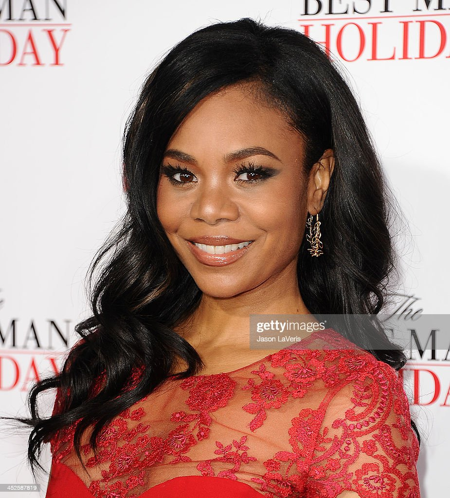 Actress <a gi-track='captionPersonalityLinkClicked' href=/galleries/search?phrase=Regina+Hall&family=editorial&specificpeople=4509171 ng-click='$event.stopPropagation()'>Regina Hall</a> attends the premiere of 'The Best Man Holiday' at TCL Chinese Theatre on November 5, 2013 in Hollywood, California.