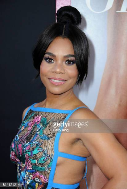 Actress Regina Hall atttends the premiere of Universal Pictures' 'Girls Trip' at Regal LA Live Stadium 14 on July 13 2017 in Los Angeles California