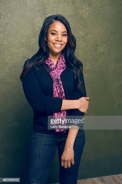 Actress Regina Hall of 'People Places Things' poses for a portrait at the Village at the Lift Presented by McDonald's McCafe during the 2015 Sundance...