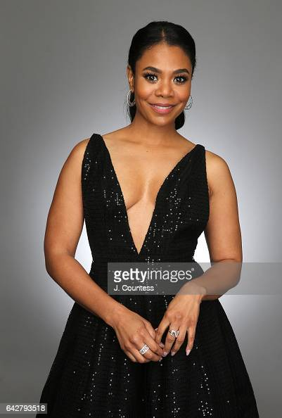 Actress Regina Hall poses for a portrait for BET's 2017 American Black Film Festival Honors Awards at The Beverly Hilton Hotel on February 17 2017 in...