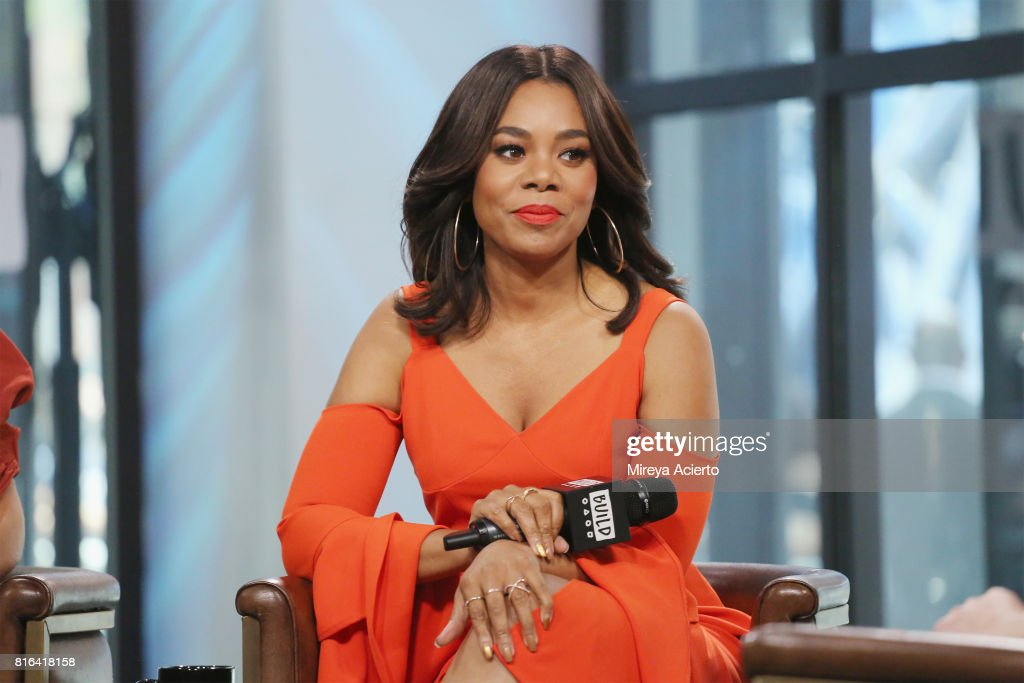 Actress Regina Hall visits Build to discuss the film 'Girls Trip' at Build Studio on July 17, 2017 in New York City.