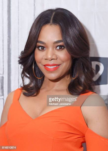Actress Regina Hall visits the Build Series to discuss the movie 'Girls Trip' at Build Studio on July 17 2017 in New York City
