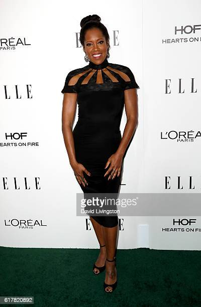 Actress Regina King arrives at the 23rd Annual ELLE Women in Hollywood Awards at Four Seasons Hotel Los Angeles at Beverly Hills on October 24 2016...