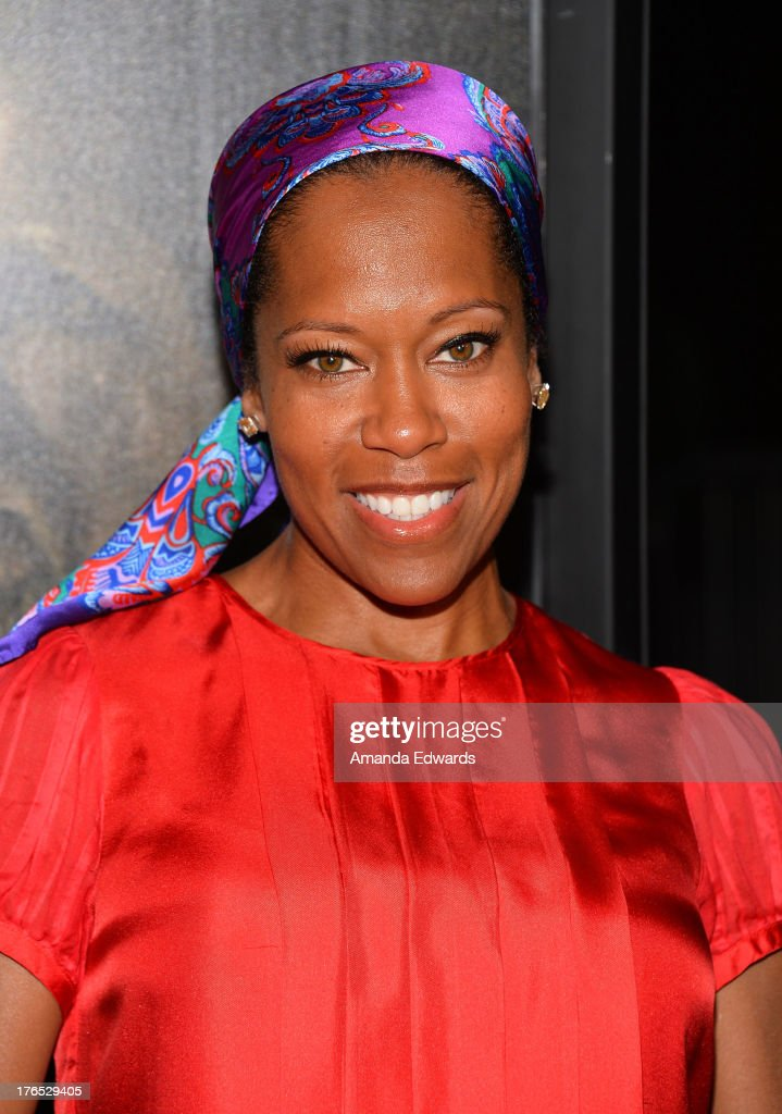 Actress <a gi-track='captionPersonalityLinkClicked' href=/galleries/search?phrase=Regina+King&family=editorial&specificpeople=202510 ng-click='$event.stopPropagation()'>Regina King</a> arrives at the premiere of 'Dark Tourist' at ArcLight Hollywood on August 14, 2013 in Hollywood, California.
