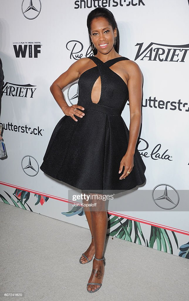 Actress Regina King arrives at Variety And Women In Film's Pre-Emmy Celebration at Gracias Madre on September 16, 2016 in West Hollywood, California.