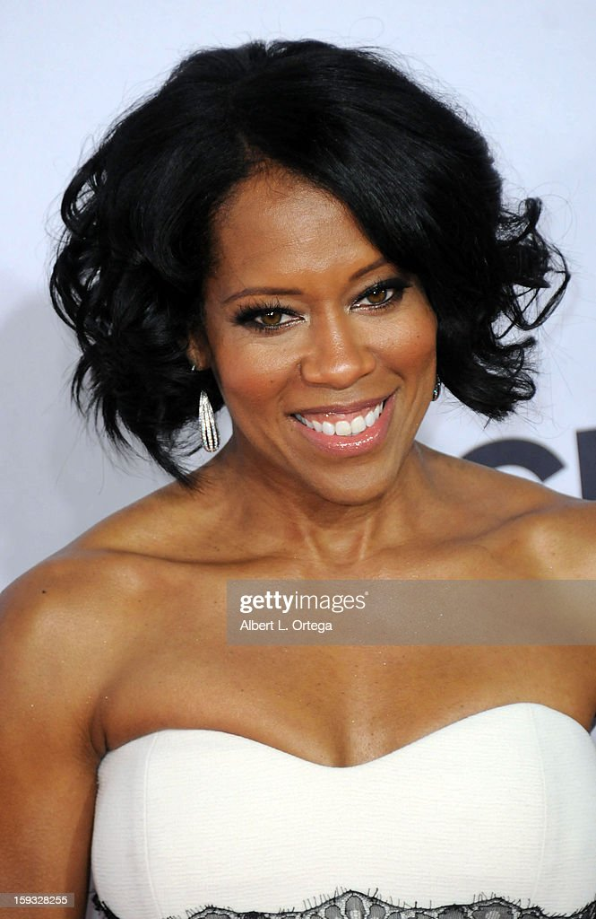 Actress Regina King arrives for the 34th Annual People's Choice Awards - Arrivals held at Nokia Theater at L.A. Live on January 9, 2013 in Los Angeles, California.
