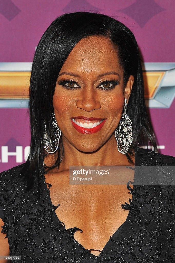 Actress Regina King attends BET's Black Girls Rock 2012 CHEVY Red Carpet at Paradise Theater on October 13, 2012 in New York City.