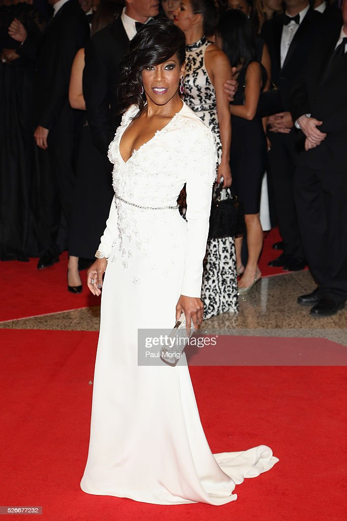 Actress <a gi-track='captionPersonalityLinkClicked' href=/galleries/search?phrase=Regina+King&family=editorial&specificpeople=202510 ng-click='$event.stopPropagation()'>Regina King</a> attends the 102nd White House Correspondents' Association Dinner on April 30, 2016 in Washington, DC.