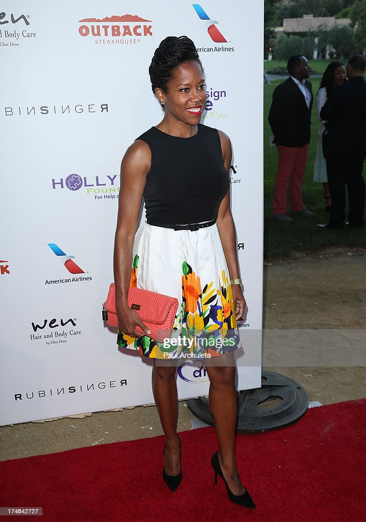 Actress Regina King attends the 15th annual DesignCare charity event on July 27, 2013 in Malibu, California.