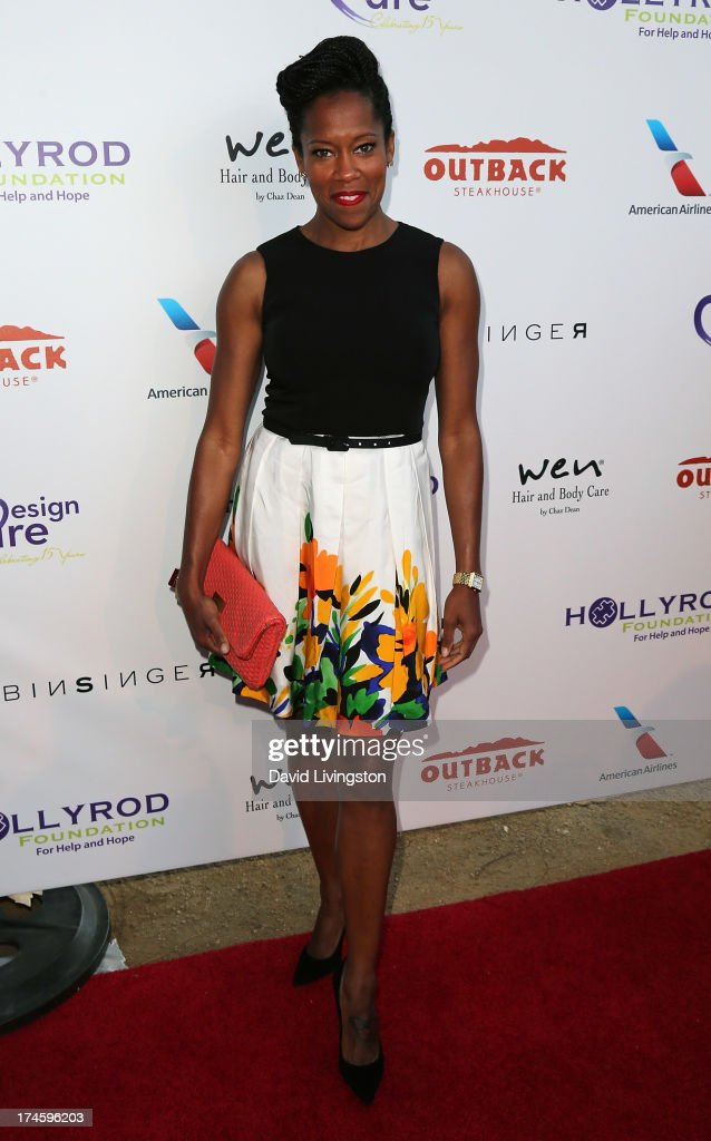 Actress Regina King attends the 15th Annual DesignCare on July 27, 2013 in Malibu, California.