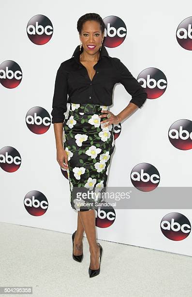 Actress Regina King attends the 2016 Winter TCA Tour Disney/ABC at Langham Hotel on January 9 2016 in Pasadena California