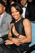 Actress Regina King attends the 45th NAACP Image Awards presented by TV One at Pasadena Civic Auditorium on February 22 2014 in Pasadena California