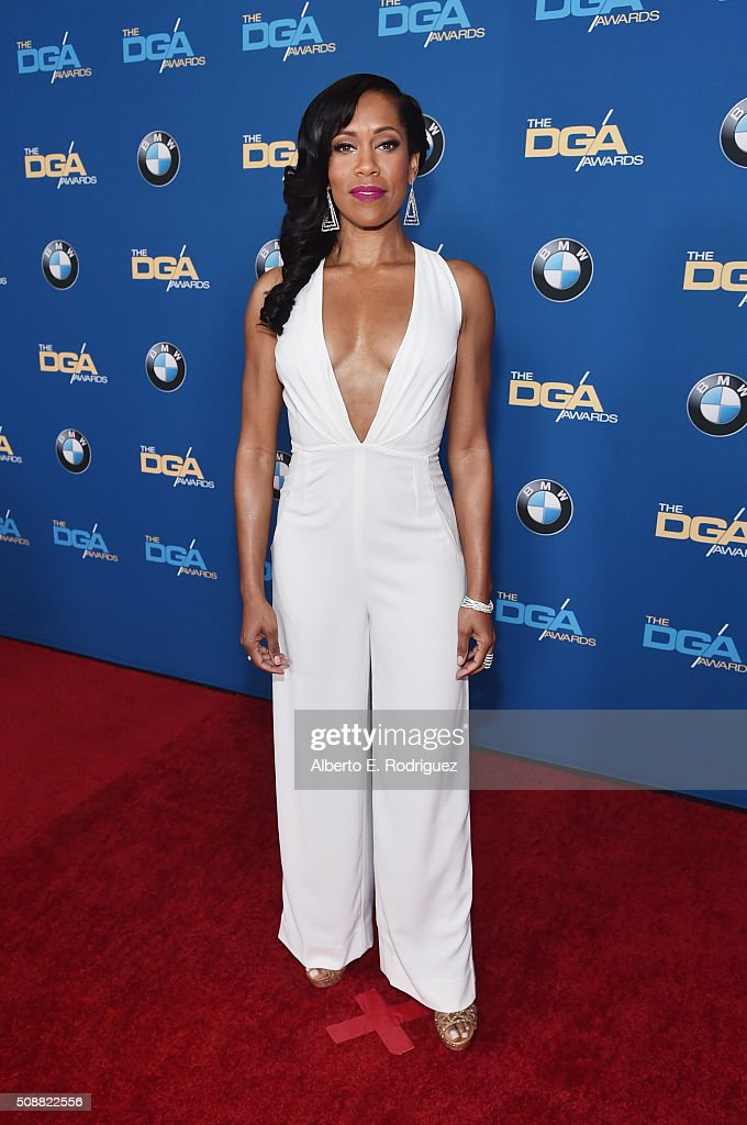 Actress Regina King attends the 68th Annual Directors Guild Of America Awards at the Hyatt Regency Century Plaza on February 6, 2016 in Los Angeles, California.