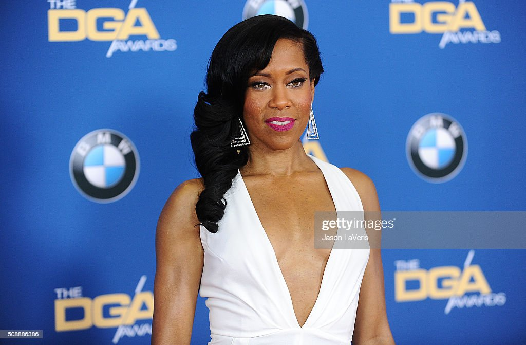 Actress <a gi-track='captionPersonalityLinkClicked' href=/galleries/search?phrase=Regina+King&family=editorial&specificpeople=202510 ng-click='$event.stopPropagation()'>Regina King</a> attends the 68th annual Directors Guild of America Awards at the Hyatt Regency Century Plaza on February 6, 2016 in Los Angeles, California.