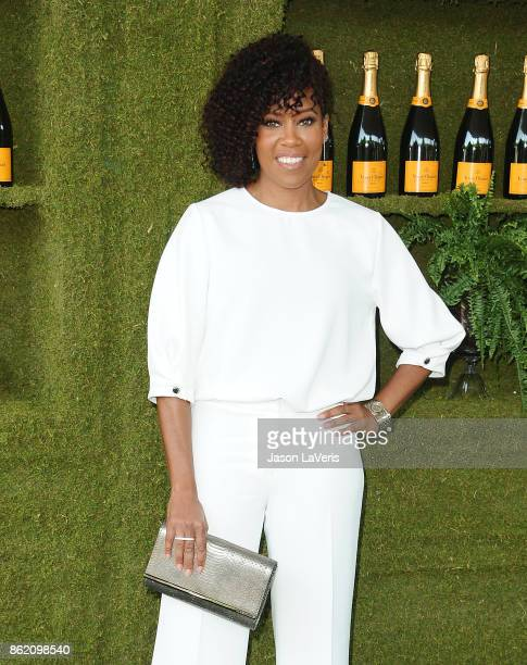 Actress Regina King attends the 8th annual Veuve Clicquot Polo Classic at Will Rogers State Historic Park on October 14 2017 in Pacific Palisades...