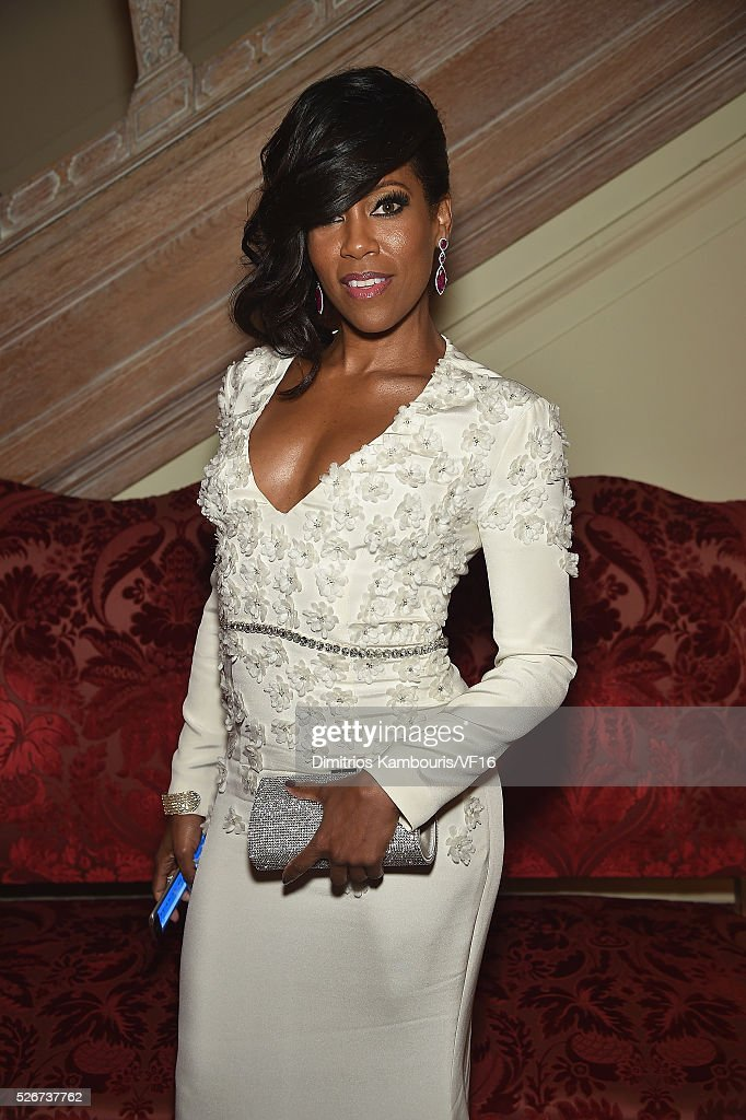 Actress Regina King attends the Bloomberg & Vanity Fair cocktail reception following the 2015 WHCA Dinner at the residence of the French Ambassador on April 30, 2016 in Washington, DC.