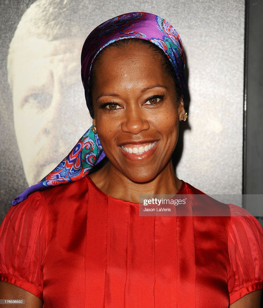 Actress <a gi-track='captionPersonalityLinkClicked' href=/galleries/search?phrase=Regina+King&family=editorial&specificpeople=202510 ng-click='$event.stopPropagation()'>Regina King</a> attends the premiere of 'Dark Tourist' at ArcLight Hollywood on August 14, 2013 in Hollywood, California.