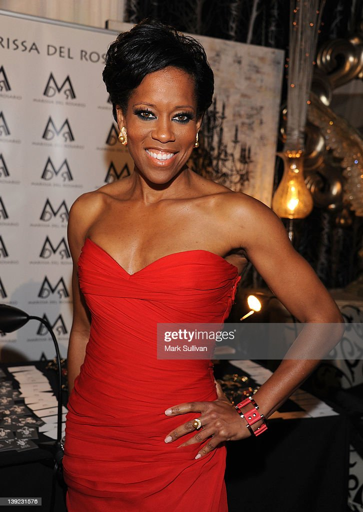 Actress Regina King in Backstage Creations Celebrity Retreat at 2012 NAACP Image Awards at The Shrine Auditorium on February 17, 2012 in Los Angeles, California.