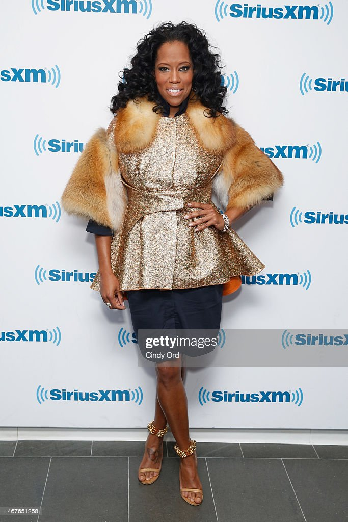 Actress <a gi-track='captionPersonalityLinkClicked' href=/galleries/search?phrase=Regina+King&family=editorial&specificpeople=202510 ng-click='$event.stopPropagation()'>Regina King</a> visits the SiriusXM Studios on March 26, 2015 in New York City.