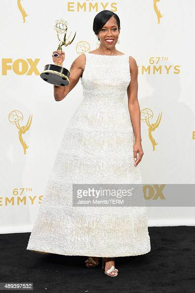 Actress Regina King winner of Outstanding Supporting Actress in a ...