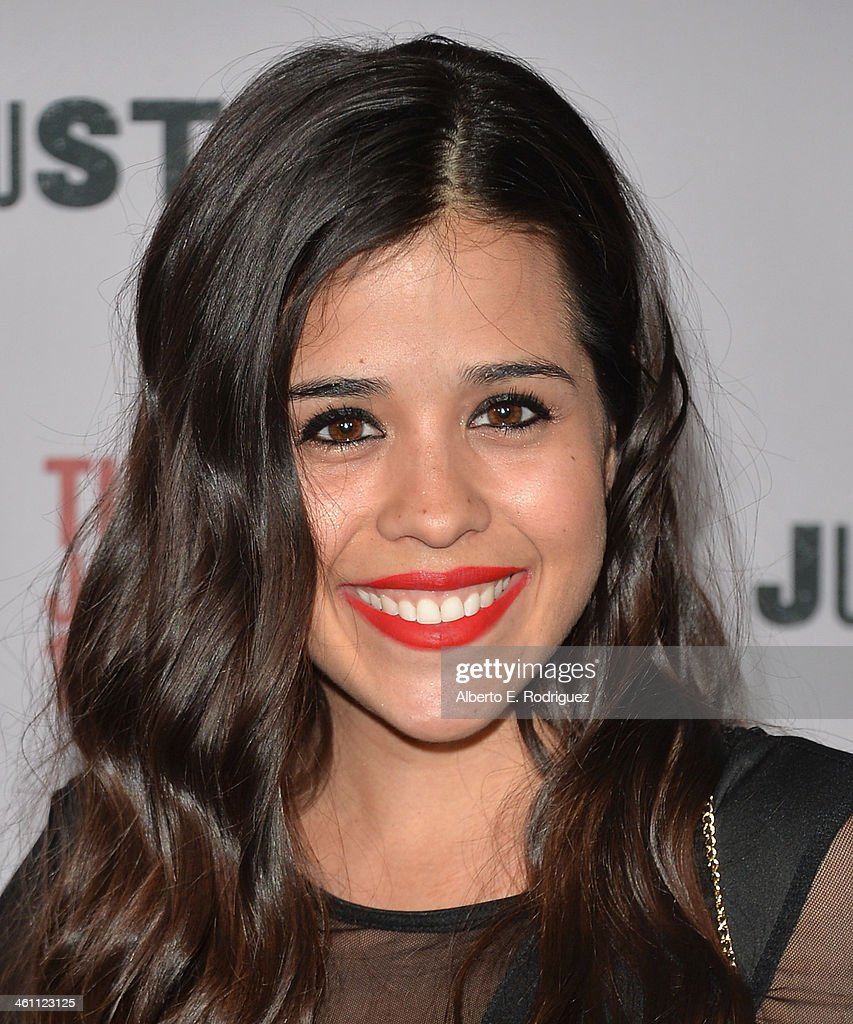 Actress Regina Saldivar arrives to the Season 5 premiere of FX's 'Justified' at DGA Theater on January 6, 2014 in Los Angeles, California.