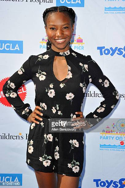 Actress Reiya Downs attends the 17th Annual Mattel Party on the Pier on September 25 2016 in Santa Monica California