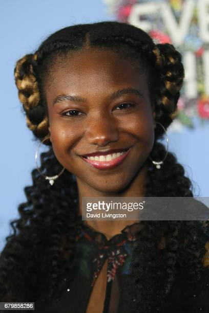 Actress Reiya Downs attends the screening of Warner Bros Pictures' 'Everything Everything' at the TCL Chinese Theatre on May 6 2017 in Hollywood...