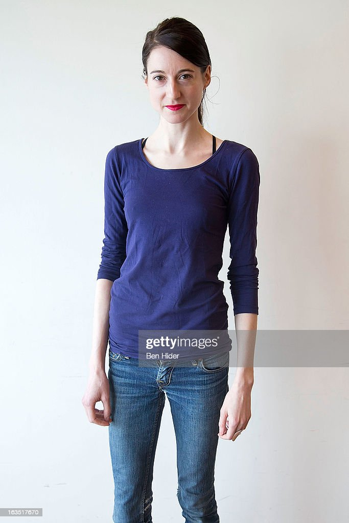 Actress Renata Friedman attends the 'Sleeping Rough' Cast Photo Call at Playwrights Horizon's North Rehearsal Studio on March 11, 2013 in New York City.