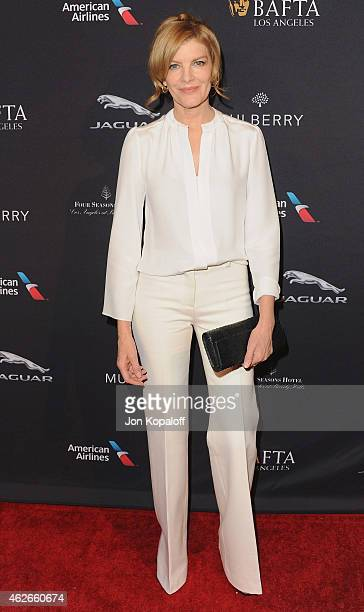 Actress Rene Russo arrives at the 2015 BAFTA Tea Party at The Four Seasons Hotel on January 10 2015 in Beverly Hills California