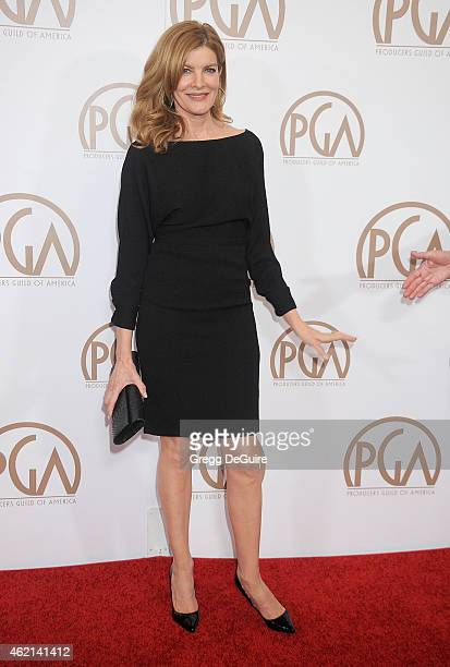 Actress Rene Russo arrives at the 26th Annual Producers Guild Of America Awards at the Hyatt Regency Century Plaza on January 24 2015 in Los Angeles...