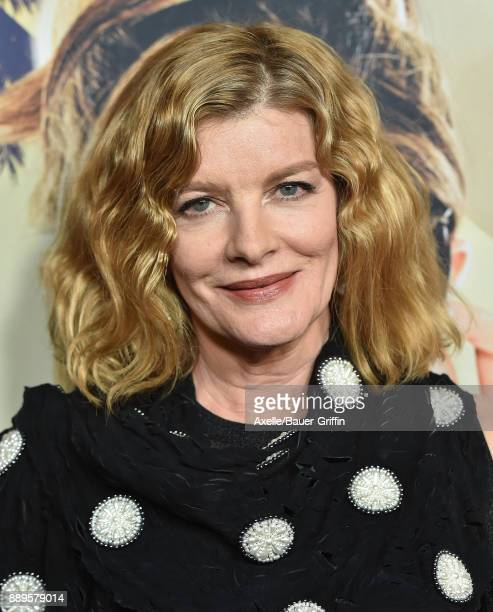 Actress Rene Russo arrives at the premiere of 'Just Getting Started' at ArcLight Hollywood on December 7 2017 in Hollywood California