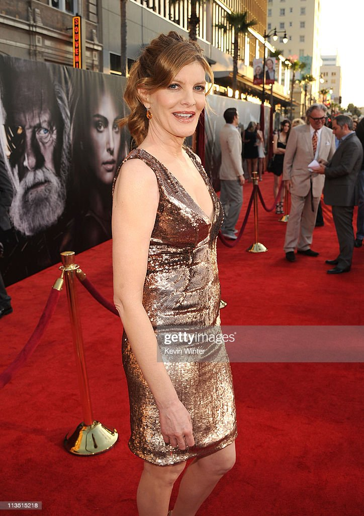 Actress <a gi-track='captionPersonalityLinkClicked' href=/galleries/search?phrase=Rene+Russo&family=editorial&specificpeople=215495 ng-click='$event.stopPropagation()'>Rene Russo</a> arrives at the premiere of Paramount Pictures' and Marvel's 'Thor' held at the El Capitan Theatre on May 2, 2011 in Los Angeles, California.