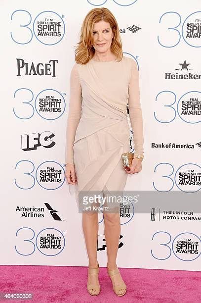 Actress Rene Russo attends the 2015 Film Independent Spirit Awards on February 21 2015 in Santa Monica California