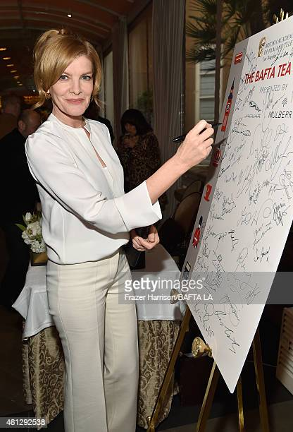 Actress Rene Russo attends the BAFTA Los Angeles Tea Party at The Four Seasons Hotel Los Angeles At Beverly Hills on January 10 2015 in Beverly Hills...
